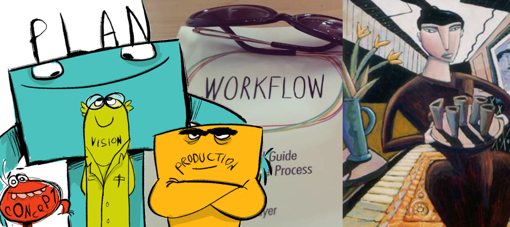 Workflow Weekly: Four characters with purple boots, and more (week #28)